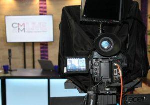 CMM Live behind-the-scenes camera