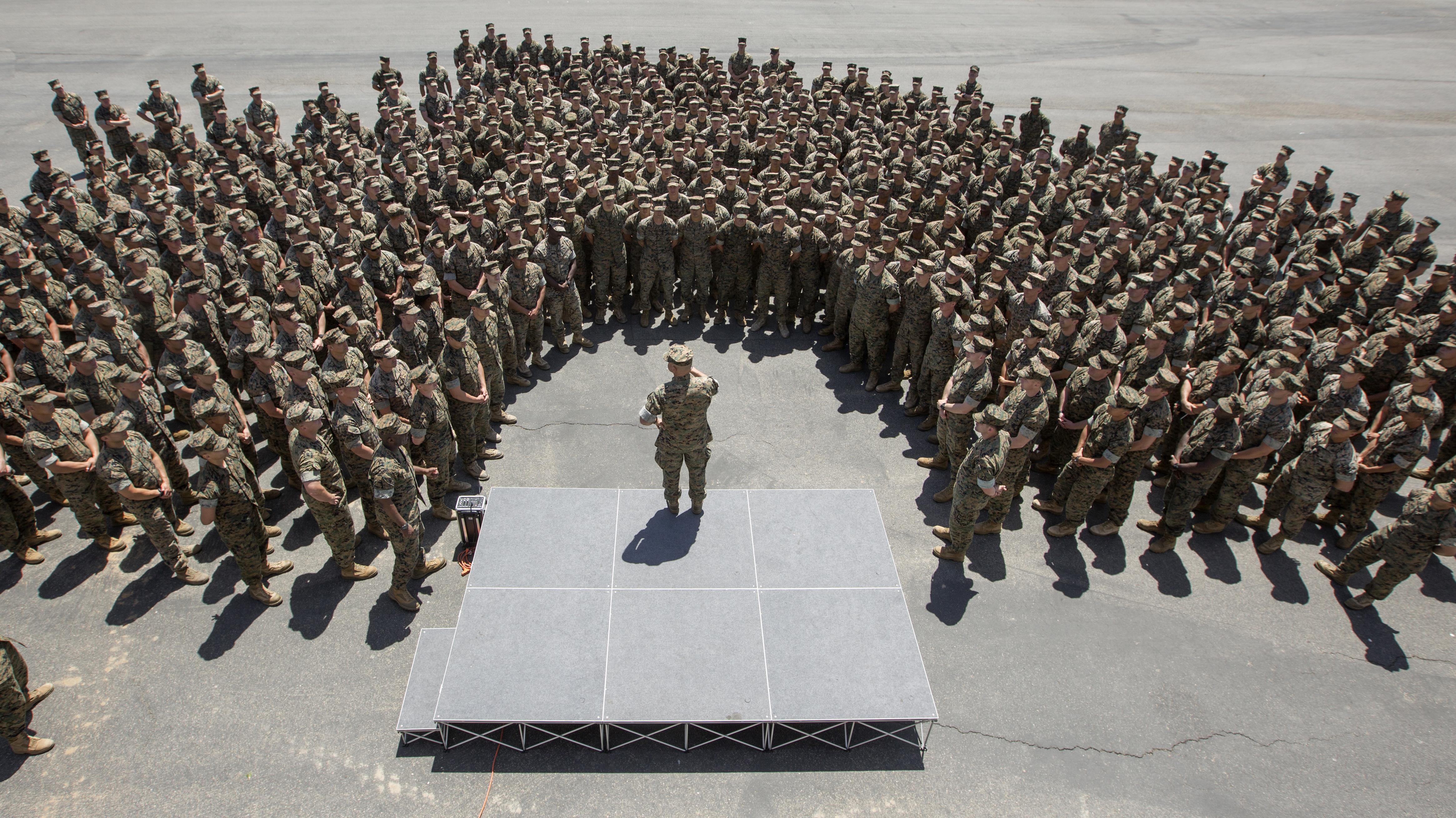 Negotiating Marine Corps Style