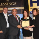 HIA-LI Business Achievement Awards - Joe Campolo, East/West Industries, Terri Alessi-Miceli