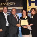 HIA-LI Business Achievement Awards - Joe Campolo, East/West Industries, Terri Alessi-Miceli