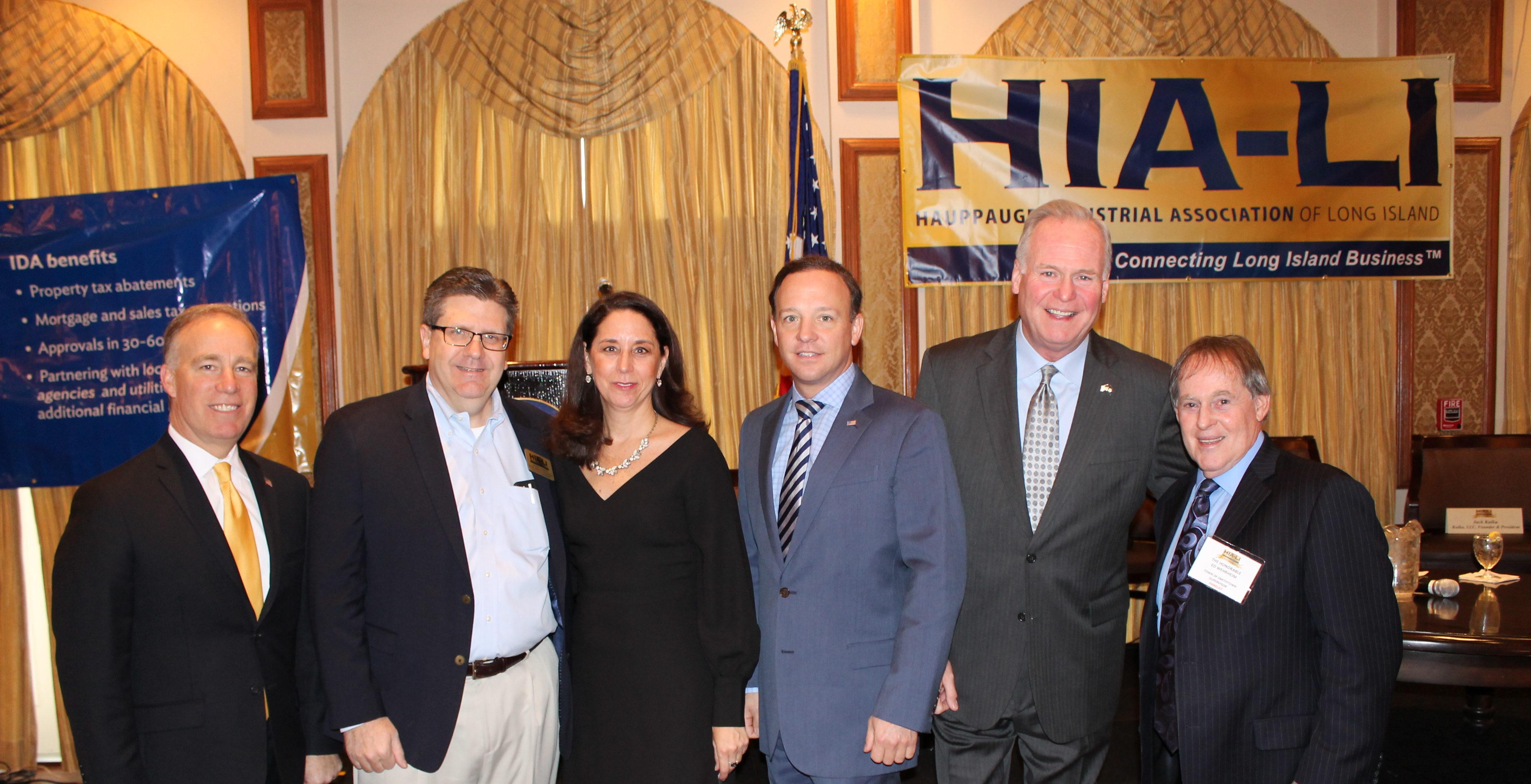 Campolo Moderates HIA-LI Legislative Breakfast Featuring Elected Officials