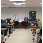 HIA meeting, Philanthropy event, and check presentation