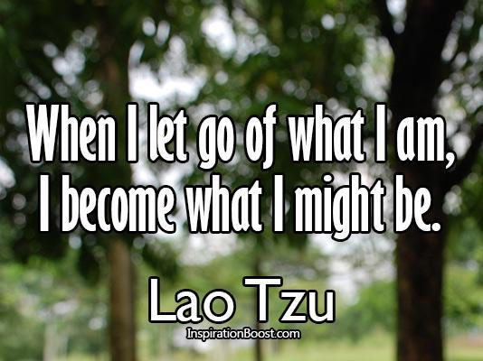 let go of what I've become quote