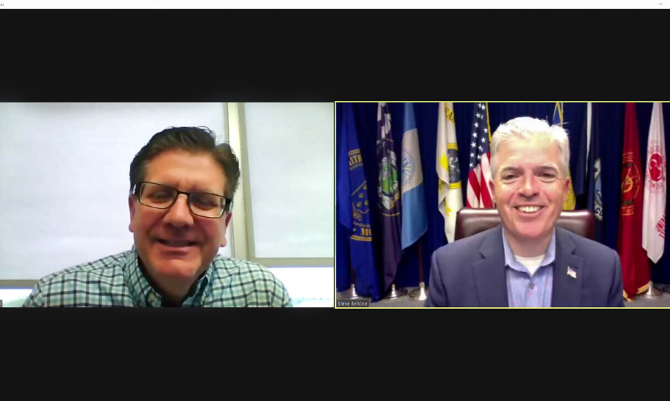REPLAY: CMM's Joe Campolo Moderates Discussion with Steve Bellone