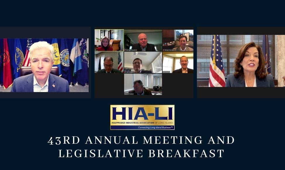 Campolo Presses Elected Officials at HIA-LI Annual Meeting